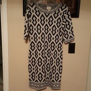 Sweater dress NWT size L